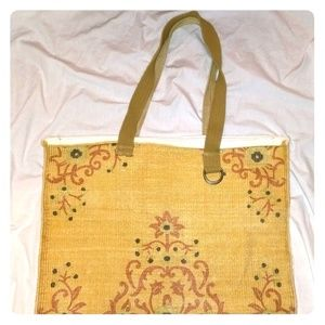 Handbags - Large Cute Bohemian Tote Carpet Bag